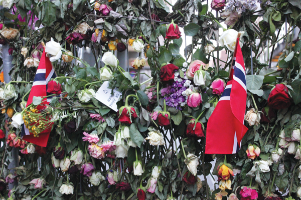 Jan. 22 marks six months since the tragic bombing and shootings in Norway. Photo courtesy Christy Olsen Field.