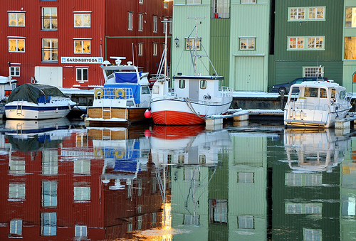 Kanalen, Trondheim. Photo: ystenes, flickr