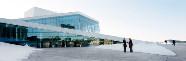 The iconic Oslo Opera House along Bjørvika. Photo: CH/www.visitnorway.com
