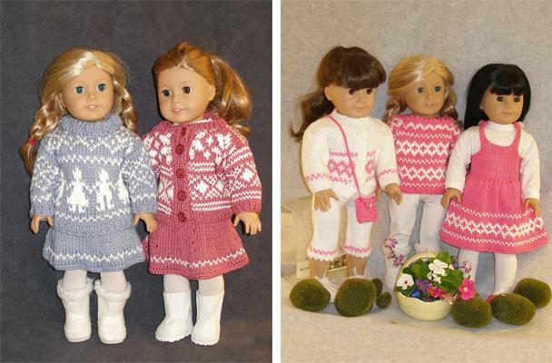 Knitting For Dolls The Norwegian American