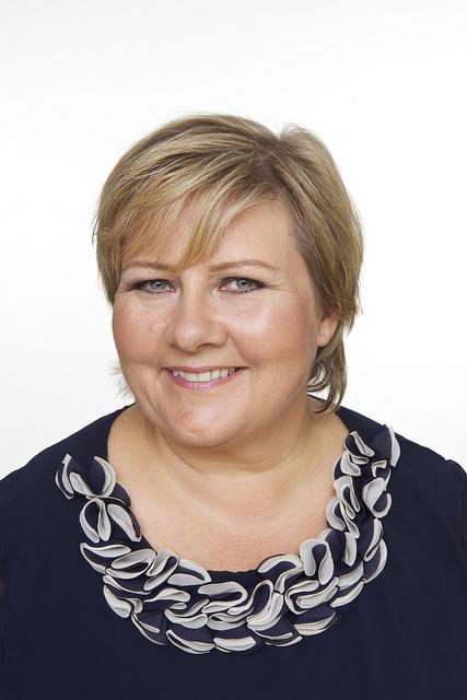 Photo: CF-Wesenberg / Høyrepartiet Meet Norway's future Prime Minister, Erna Solberg!