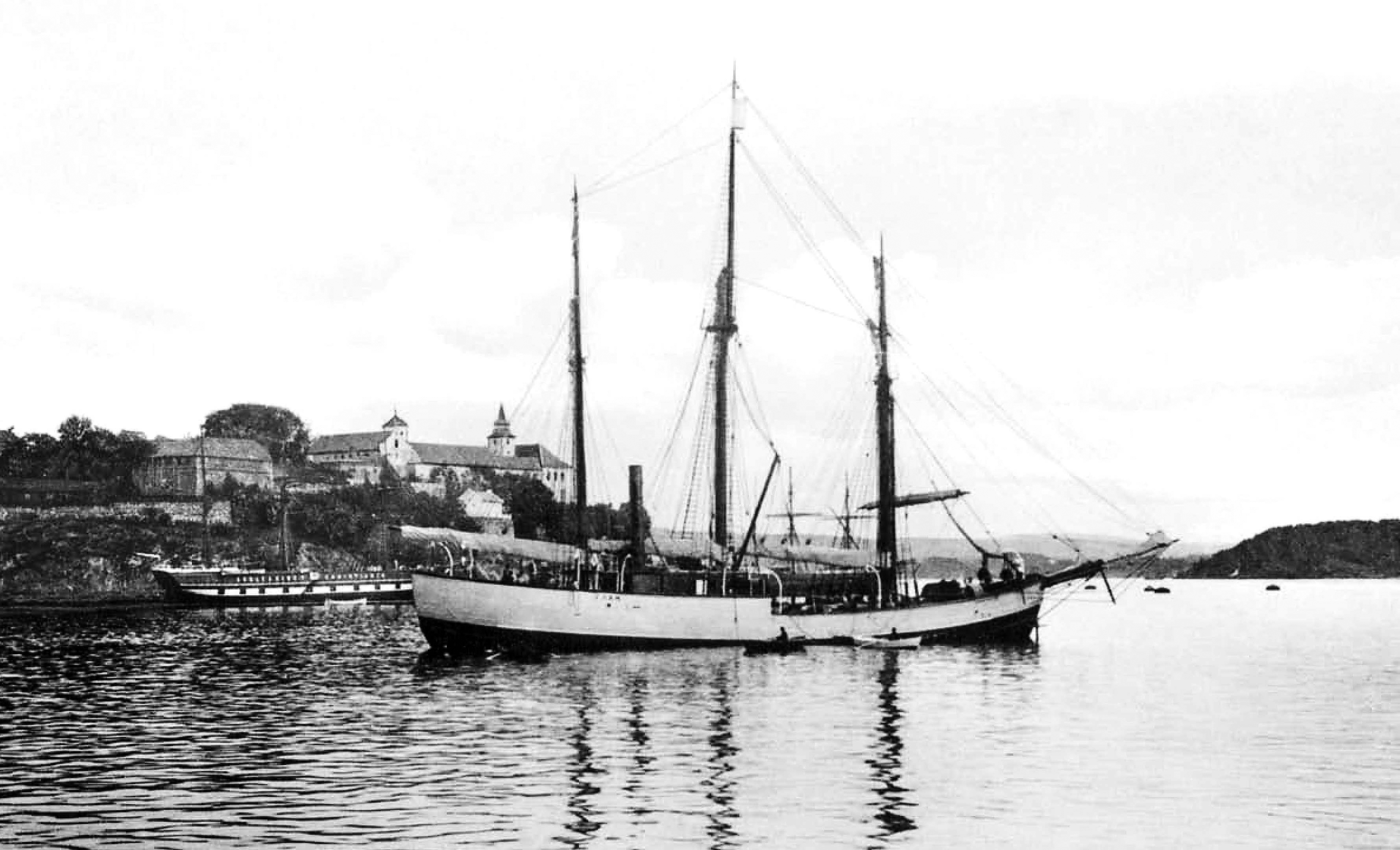 "Photo courtesy of Olaf Engvig Nansen's ""Fram"" was the first specially built ship for Arctic research and trying to reach the North Pole. It opened up for numerous expeditions from several countries to discover and map the last unknown places on earth, namely the Polar Regions in Arctic and Antarctic. Amundsen also used this ship when he managed to reach the South Pole in 1911."