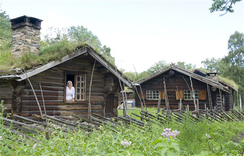 Photo: Anne-Lise Reinsfelt / Norsk Folkemuseum / visitnorway.com The Numedal Farmstead at the Norsk Follkemuseum in Oslo. Many Norwegian names are derived from the names of farms.