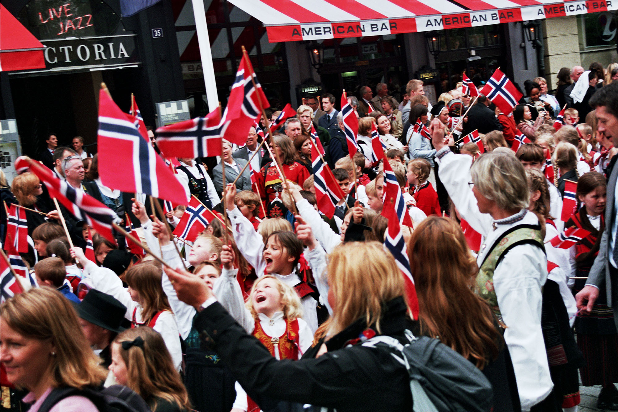 Photo: Evelina Gustafsson / Wikimedia Commons Fredheim Lodge managed to involve young Norwegian Americans even when it's not Syttende Mai.