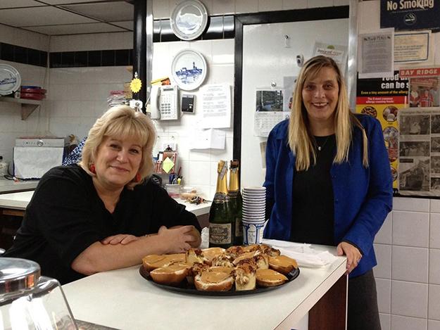 Photo: Arlene Bakke Arlene Bakke Rutuelo & Victoria Hofmo seem poised to enjoy a treat.