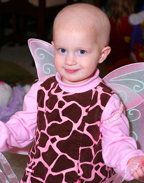 Photo courtesy of Jeremy Jacobs Ava celebrates her second birthday.