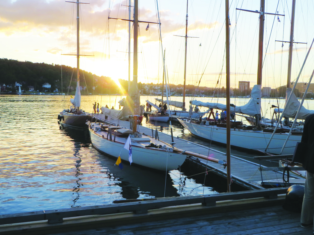 Photo: Robert McDermott Yachts in Sandefjord.