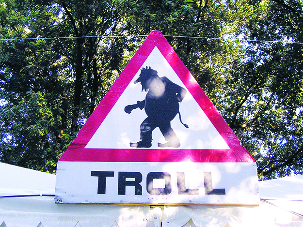 Photo: Gil Mnogueira / Wikimedia Commons Troll warning!