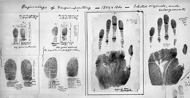 Photo: Wikimedia Commons  Fingerprinting technology has come a long way since the 1800s. Next Biometrics is working on some of the smallest, high-quality fingerprint scanners for use in Windows devices.