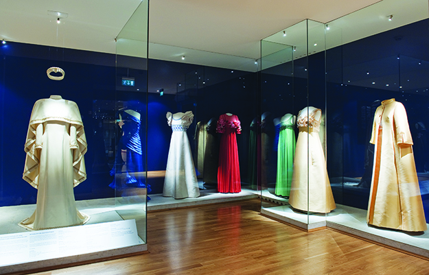 Photo: Anne Hansteen Jarre / Innovation Norway The Royal Dress Collection at Norway's National Museum of Art, Architecture, and Design.