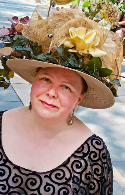 Photo: Lisa Daehlin, Singer / Facebook Lisa Dæhlin singing in Bryant Park, New York City, in June of 2013.