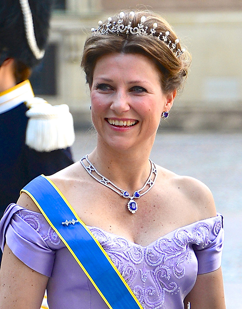 Photo: Frankie Fouganthin / Wikimedia Commons Princess Martha Louise at the wedding of Princess Madeleine of Sweden in 2013.