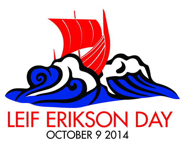 Photo: Andrew Saur NAW thanks Andrew for his annual Leif Erikson Day design.