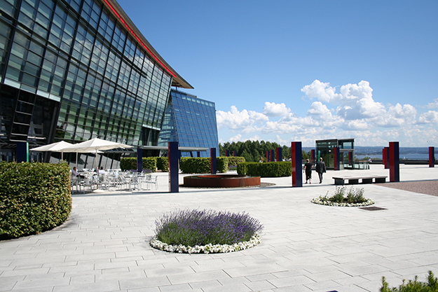 Photo: Telenor Group  Telenor Group and Telenor Norway HQ in Fornebu.