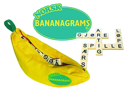 Norsk Bananagrams Game