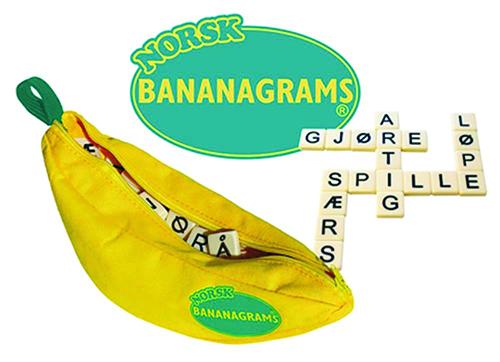 Norsk Bananagrams Game