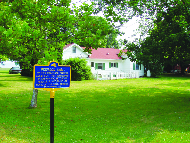 Photo courtesy of Ivitek Publishing Current site of the Cleng Peerson house in Kendall, N.Y.
