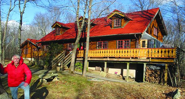 Photo: Thor A. Larsen Tore Heskestad's home