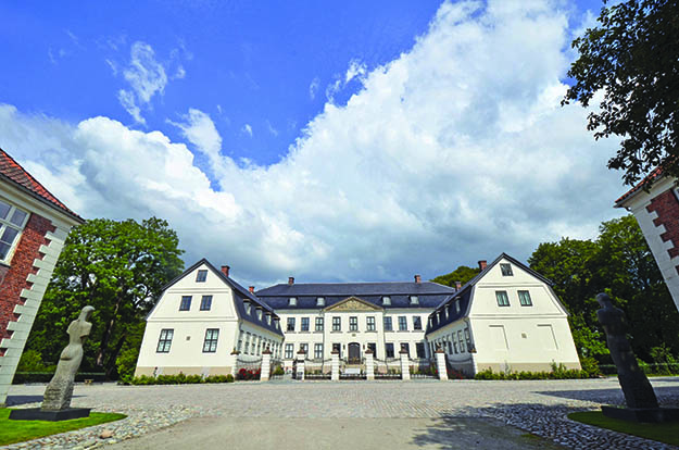 Photo courtesy of Sarpsborg Kommune Hafslund Hovedgård, one of Sarpsborg's grand manor homes, will serve as the central location for the city's millennium celebration, July 29-31, 2016.