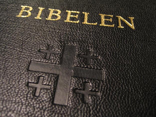 Photo: Pål Berge / Wikimedia Commons The Norwegian Bible.