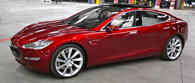 Photo: Steve Jurvetson / Wikimedia The Tesla Model S, one of Norway's top cars.