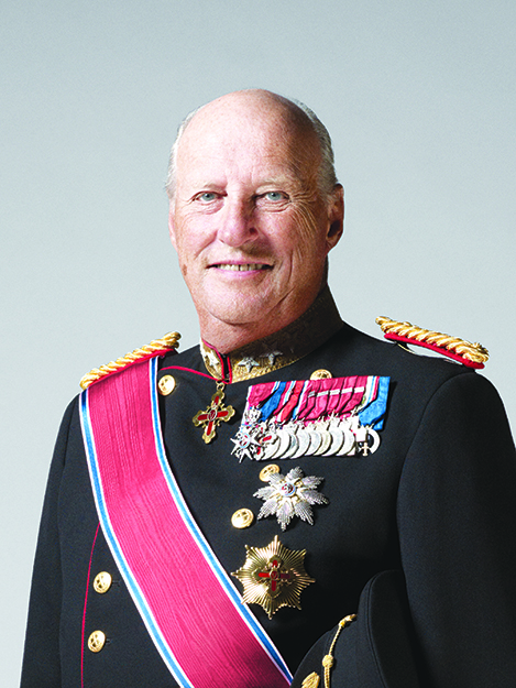 Photo courtesy of PLU King Harald V of Norway will visit Pacific Lutheran University in May.