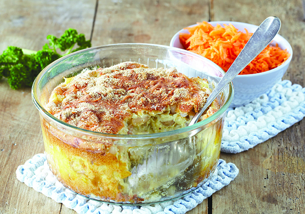 Photo: Tine Mediebank You can also bake individual portions of gratin for a cheerful presentation.