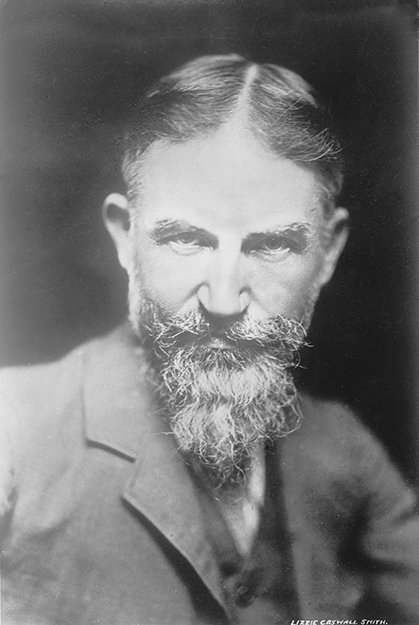 Photo: Wikimedia Commons George Bernard Shaw c. 1900.