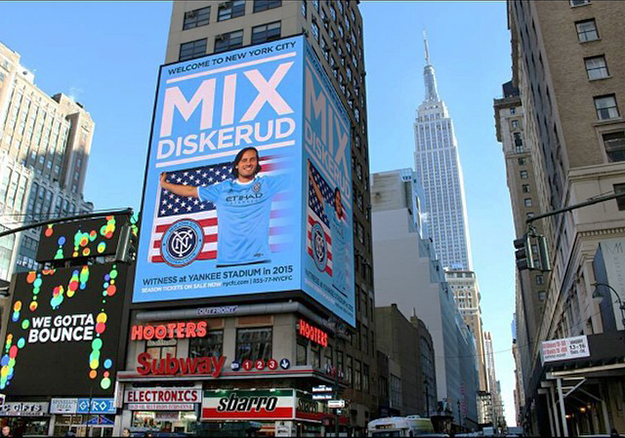 Photo: Mix Diskerud / Facebook  Diskerud is big in New York.
