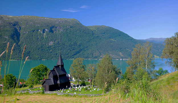 Photo: Espen Mills / Tasteofnationaltouristroutes.com / visitnorway.com Leikanger, where the company is located, is a very beautiful place to visit—but Fotefar Temareiser brings groups to other exotic destinations, such a Brooklyn, New York.