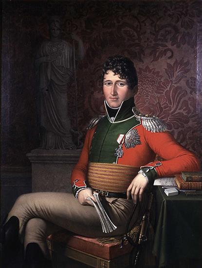 Contestant #1: Christian Frederik.  Portrait by J. L. Lund.
