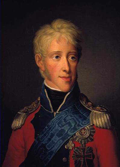 Photo: Wikimedia Commons Contestant #3: Frederick VI. Portrait by Friedrich Carl Gröger.