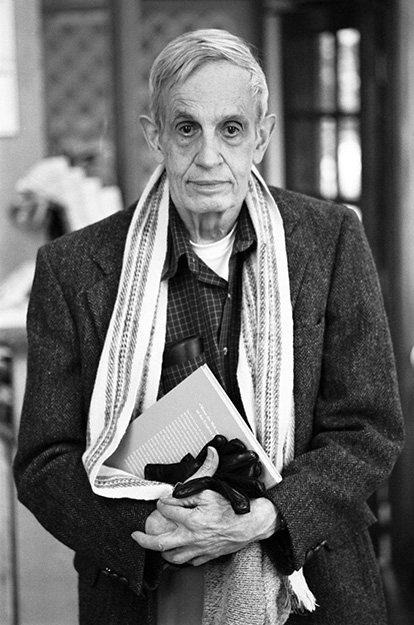 Photo: Peter Badge / Typos1 / Wikimedia John F. Nash, Jr.