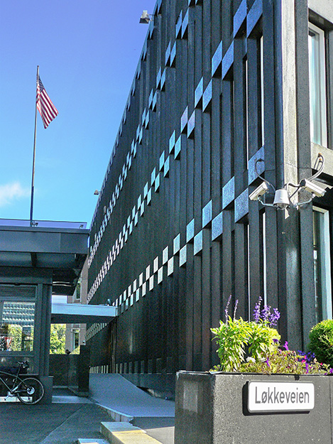 Photo: Chell Hill / Wikimedia Commons Will the U.S. Embassy in Oslo finally have an ambassador to call its own?
