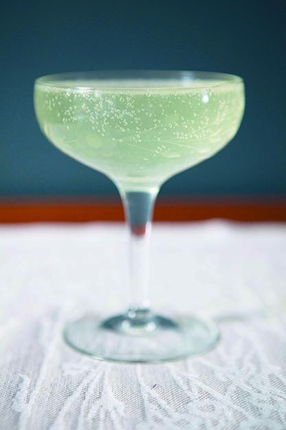 Photo: Emily Vikre With akevitt, prosecco, and lime, this refreshing cocktail is a Norwegian twist on the classic French 75 cocktail.