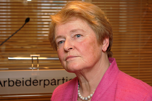 Photo: Arbeiderpartiet / Flickr Gro Harlem Brundtland.