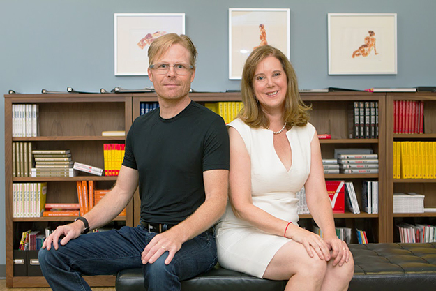 Photo courtesy of Medallia  Borge Hald and wife Amy Pressman started Medallia in 2001.