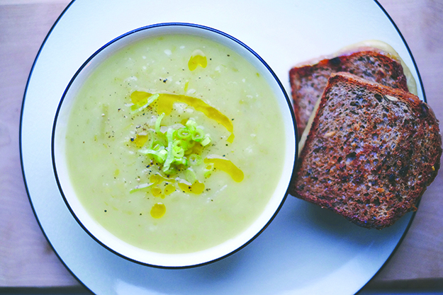 Photo: Dianna Walla Soup and a sandwich is anything but bland in this playful Nordic twist on a classic.