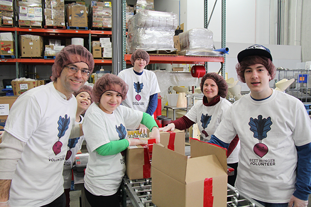 Photo courtesy of Second Harvest Heartland Volunteers are the heart of any not-for-profit. Last year, volunteers from school and church groups, corporations, group homes, civic and youth organizations, and more, provided Second Harvest Heartland with more than 147,000 hours of time.