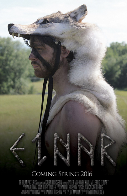 Photo courtesy of TriFilm Pictures   Einar's official poster.