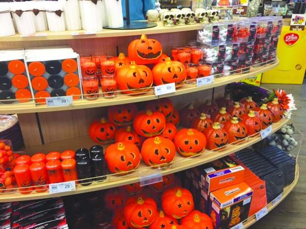 photo heidi hvan grosch from nille a dollar store type of chain in norway - Kmart Halloween