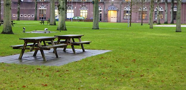 "Photo: Cover photo, ""Serving a sentence in Norgerhaven Prison in the Netherlands,""  Kriminalomsorgen information publication, September 2, 2015 Norgerhaven Prison."