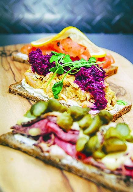 Photo: Bröd Kitchen Smørbrød comes in all shapes and sizes, but always starts with great bread.