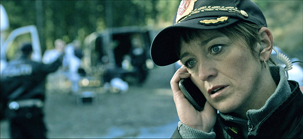 Photo: NRK Anneke von der Lippe plays Helen Sikkeland in the Norwegian crime drama.
