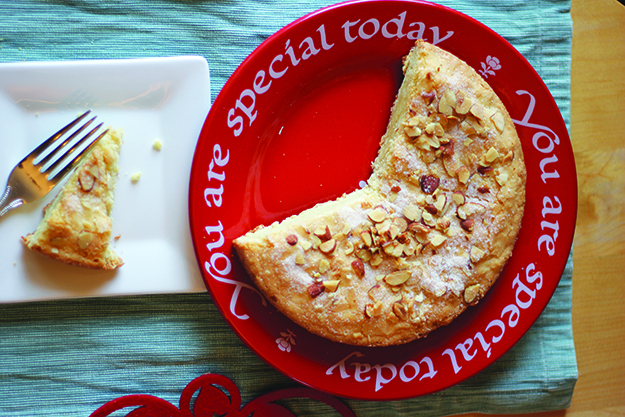 "Photo: Christy Olsen Field This ""Norwegianized"" almond cake recipe is reminiscent of kransekake but simple enough to make for any occasion."