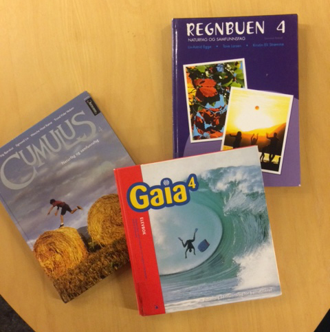 Photo: Heidi Håvan Grosch These are some of the books you'd be studying if you went to school in Norway.
