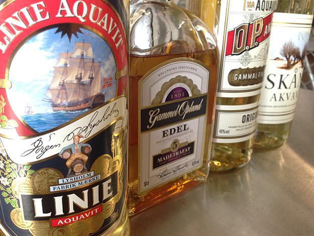 Snaps visa what is aquavit anyway the norwegian american for Aquavit and the new scandinavian cuisine