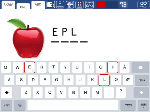 Photo: iTunes This screenshot shows one of the many exercises in this Norwegian language application.