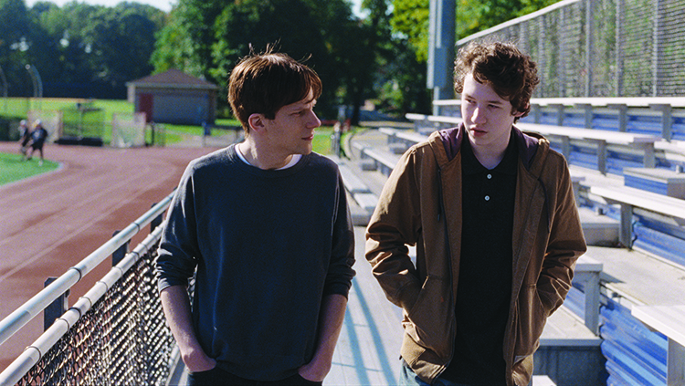 Photo: Jakob Ihre / Motlys AS Jesse Eisenberg & Devin Druid in Louder Than Bombs.