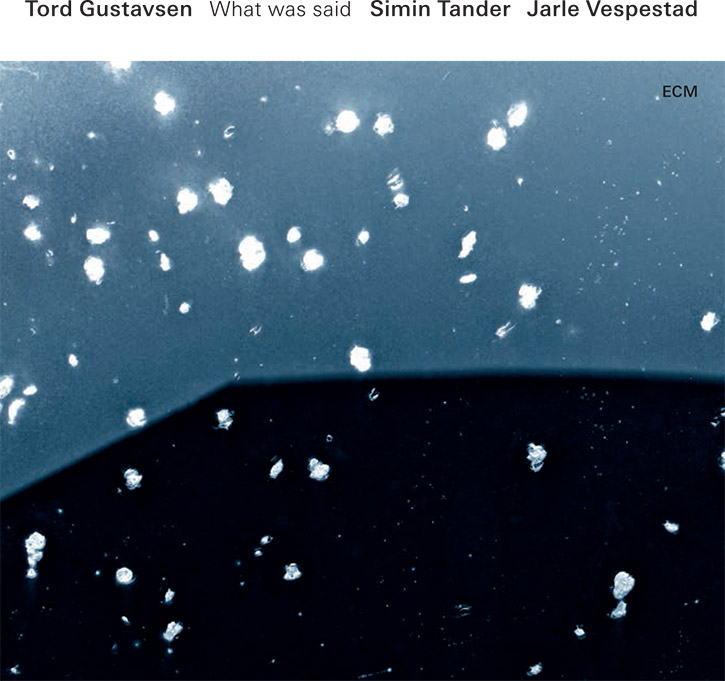 Photo courtesy of ECM Records USA What was said album cover.